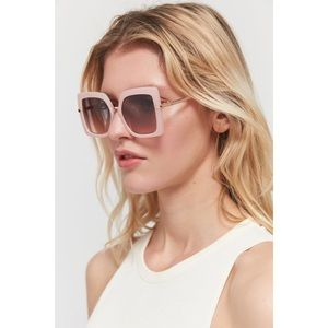 Urban Outfitters Pink Retro Square Sunglasses